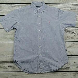 Ralph Lauren Short Classic Fit Sleeve Button Down